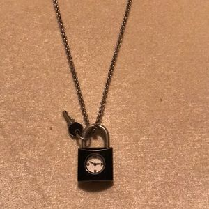 Long Mac by Mac Jacobs watch necklace